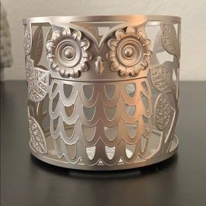 Bath and body works owl candle sleeve